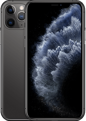 Logo-iPhone 11 Pro Space Gray