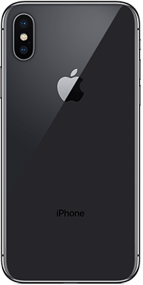 Logo-iPhone X Back